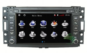 How to use car dvd player for Hummer H3 head unit