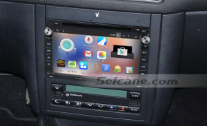 1997-2004 VW Volkswagen Golf 4 head unit after installation