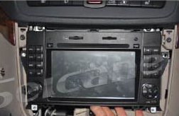 2006-2012 Mercedes Benz Viano Vito radio installation step 7