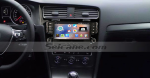 2013 New Golf 7 car stereo after installation
