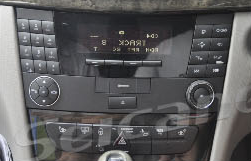 2000-2008 Mercedes-Benz E-Class W211 radio installation step 1