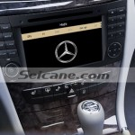 2001-2008 Mercedes Benz G W463 radio after installation