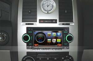 2002 2003-2007 Jeep Liberty car stereo after installation