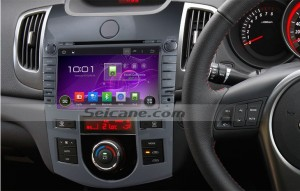 2008-2012 KIA CERATO (AT) car stereo after installation