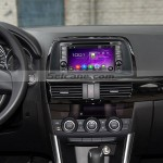 2013 2014 2015 Mazda CX-5 car radio after installation