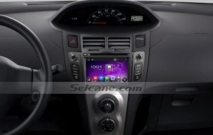 2005-2011 Toyota YARIS after installation