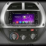 2003-2010 Toyota Vios car radio after installation