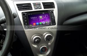 2004-2006 Toyota Corolla dvd player navigation system after installation