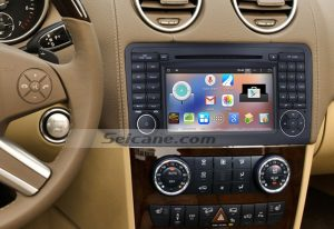 2005-2012 Mercedes Benz ML Class W164 dvd gps bluetooth stereo after installation