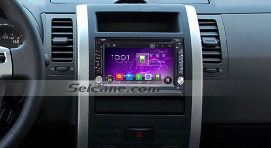 2010 2011 Nissan Juke Blue tooth DVD radio after installation.