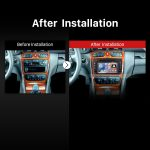 1998-2002 Mercedes Benz E Class W210 gps dvd audio system after installation