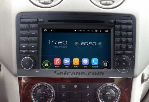 2005-2012 Mercedes Benz ML Class W164 Bluetooth audio radio after installation