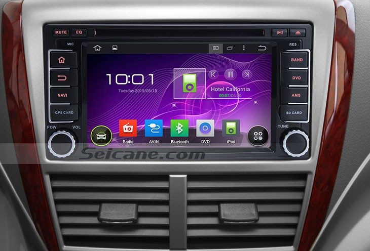 2008-2013 Subaru Forester android radio head unit after installation