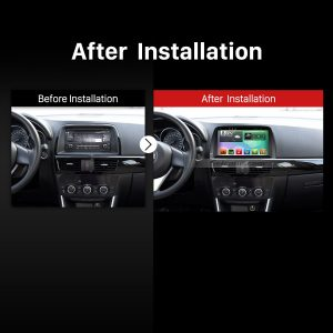 2012-2015 Mazda CX 5 Bluetooth Stereo after installation