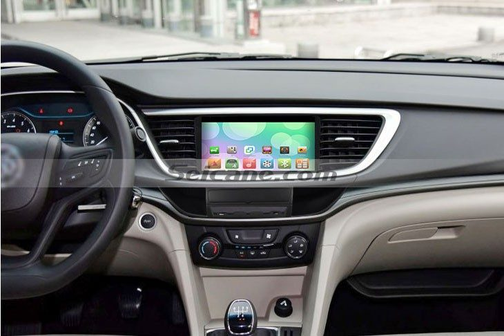 2015 Buick Excelle car radio after installation 2015 Buick Excelle Radio