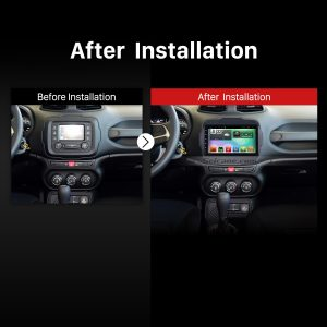 2016 Jeep Renegade Bluetooth Car Stereo after installation