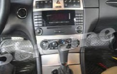 The picture of the original car radio and 6-disc CD player