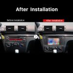 2004-2012 BMW 1 Series E81 E82 116i 118i 120i 130i Car Stereo after installation