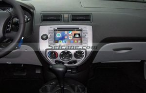 2005 Ford Fiesta Form car stereo after installation