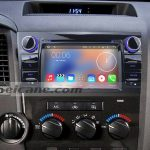 2006-2013 Toyota Tundra Car Stereo after installation