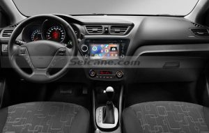 2011 2012 Kia K2 RIO Touch Screen Radio after installation