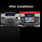 2013 2014 2015 Honda CRV car stereo after installation