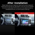 2000-2009 VW Volkswagen Polo Car Stereo after installation
