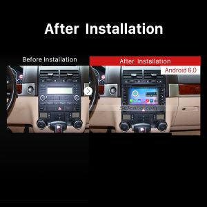 2003-2014 VW Volkswagen Transporter Car Stereo after installation
