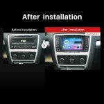 2011 2012 2013 Skoda Octavia GPS Bluetooth Car Radio after installation