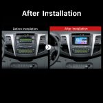2003-2010 TOYOTA VIOS Bluetooth GPS Car Stereo after installation