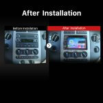 2004 2005 2006 Ford Focus Car Radio after installation