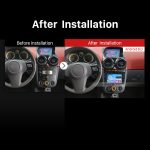 2004-2010 Opel Astra GPS Bluetooth DVD after installation