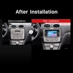 2007 2008 2009 Ford C-MAX Bluetooth GPS DVD after installation