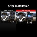 2011-2015 Lifan X60 Car Stereo after installation
