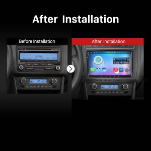 2010 2011 2012 2013 VW Volkswagen POLO Multivan Car Radio after installation