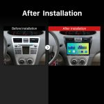 2003 2004 2005 2006 2007-2010 Toyota old Vios Car Radio after installation
