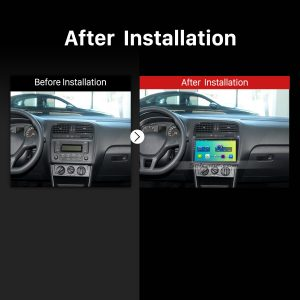 2011 2012 2013 2014 2015 VW Volkswagen POLO Car Radio after installation