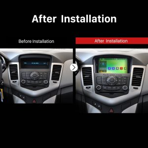 2008 2009 2010 2011 2012 Chevrolet Chevy Cruze Holden Car Radio after installation