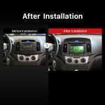 2007 2008 2009 2010 2011 HYUNDAI ELANTRA Car Radio after installation