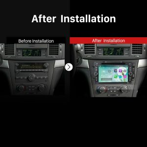 2002 2003 2004 2005 2006-2010 Chevy Chevrolet OPTRA Car Radio after installation