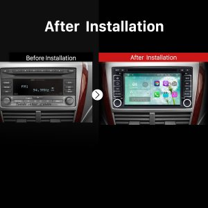 2008 2009 2010 2011 2012 2013 Subaru Impreza GPS Bluetooth DVD Car Radio after installation