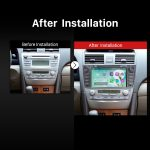 2007 2008 2009 2010 2011 Toyota CAMRY Navigation System after installation
