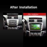 2008 2009 2010 2011 2015 MAZDA 6 Ruiyi Ultra Bluetooth DVD GPS Car Radio after installation