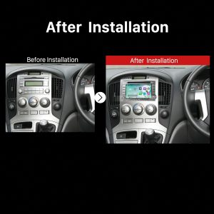 2009 2010 2011 2012 Hyundai H1 Car Stereo after installation