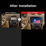 2005 2006 2007 2008-2012 Mercedes Benz ML CLASS W164 ML350 ML430 ML450 ML500 GPS Bluetooth Car Radio after installation