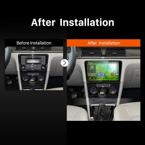 2012 2013 2014 2015 VW Volkswagen BORA Car Radio after installation