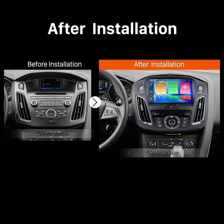 2015 Ford focus Car Radio after installation