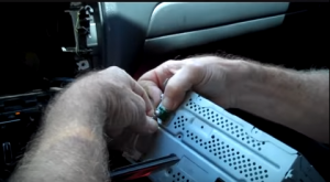 Disconnect all the connectors or cables at the back of the original car radio