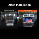 2004 2005 2006 2007 Mercedes Benz C Class W203 C180 C200 C220 C230 GPS Navi Car Stereo after installation