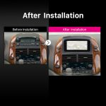 2004 2005 2006 2007-2010 Toyota Sienna Car Radio after installation